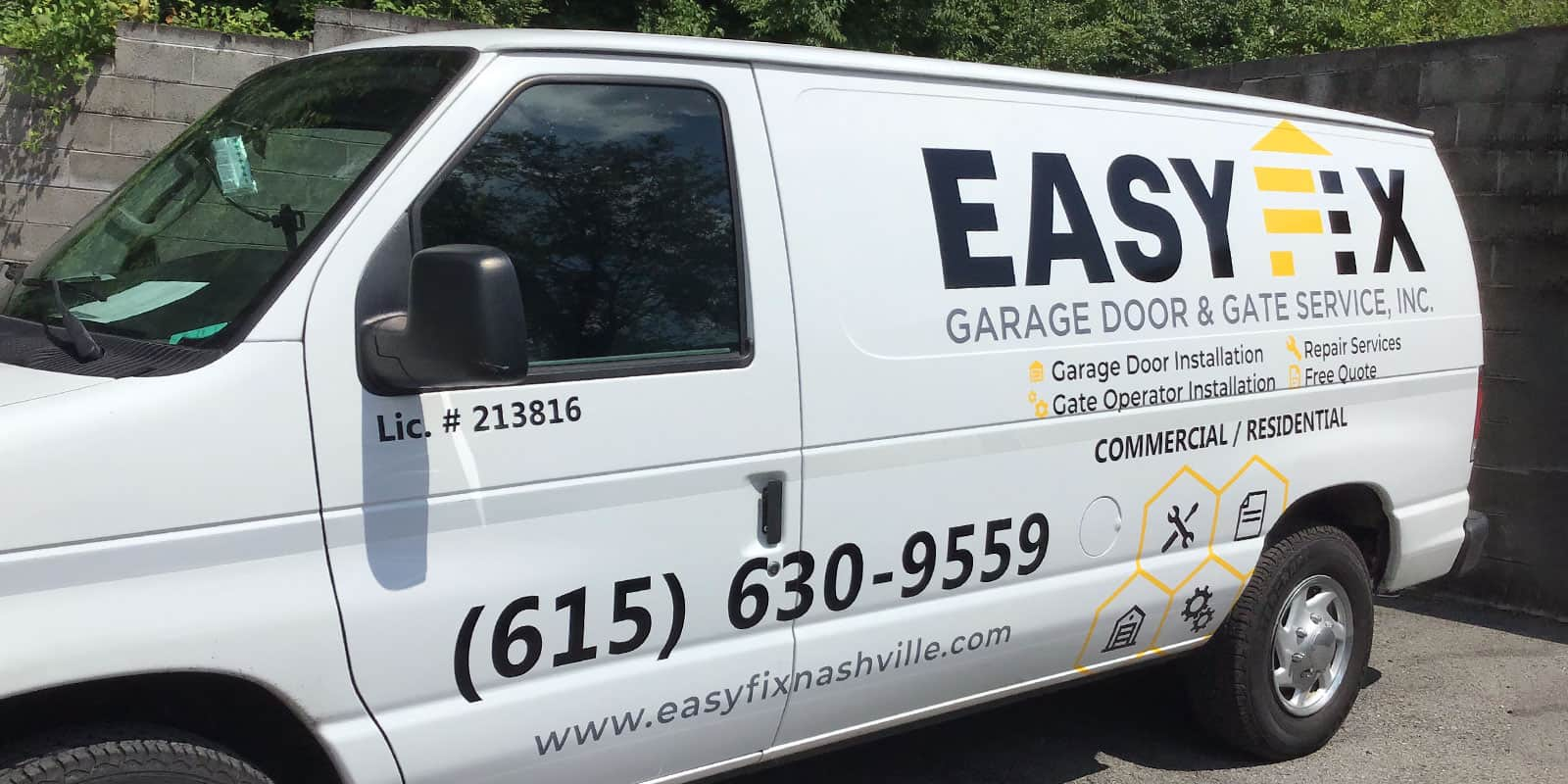 Garage Door And Gate Services Garage Door Company Nashville Easyfix